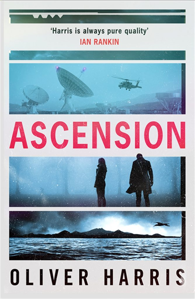 The cover of Ascension by Oliver HArris