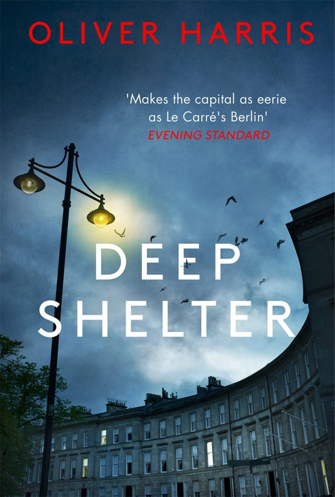 The cover of Deep Shelter by Oliver Harris