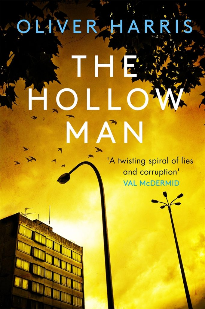The cover of The Hollow Man by Oliver Harris